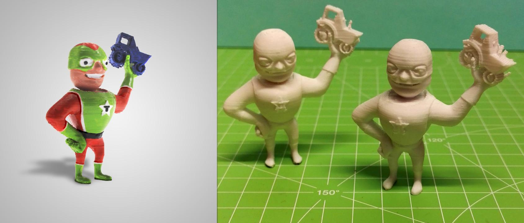 3D-Druck Modell (Fotos: © Treckerheld)